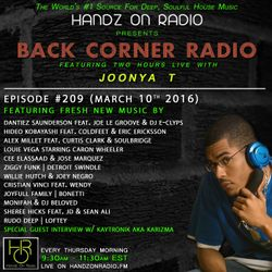 BACK CORNER RADIO: Episode #209 w/ KAYTRONIK (March 10th 2016)