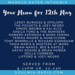Markus Kater inthemix - 12th May - Have A Dance