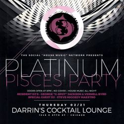 A Night @ Darrin's: Platinum Pisces Party - 21 February 2019