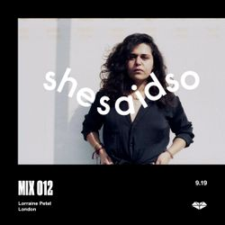 SSSO MIX 012: Lorraine Petel
