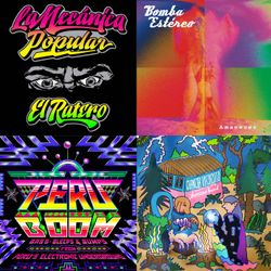 Movimientos show: 19/6/15 w/ Bomba Estereo, Triblin Sound, La Mecanica Popular, Thornato, La Yegros