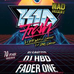 YETI presents KID FRESH (Mad Decent / DMC Champ) LIVE @ Arkham