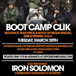 LIVE DJ SET FROM THE BOOT CAMP CLIK SHOW @ LPR (NYC) 03/20/12
