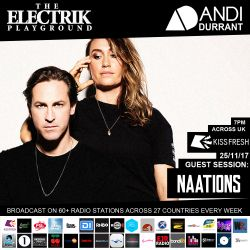 Electrik Playground 25/11/17 inc. NAATIONS Guest Session