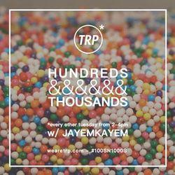 HUNDREDS&THOUSANDS W/ DJ HEEBZ & IVAN RANKIC - APRIL 12 - 2016