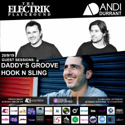 Electrik Playground 20/9/19 inc. Daddys Groove & Hook N Sling Guest Mixes