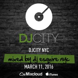DJ ESQUIRE NYC - Friday Fix - Mar. 11, 2016