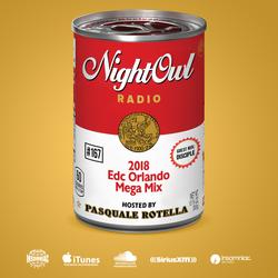 Night Owl Radio 167 ft. EDC Orlando 2018 Mega-Mix and Disciple