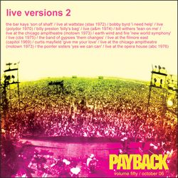 PAYBACK Vol 50 October 2006
