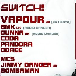 BMK Live at Switch in Vienna 11th November 2011
