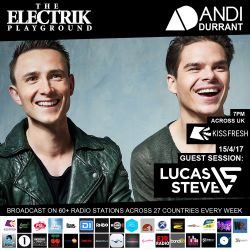 Electrik Playground 15/4/17 inc Lucas & Steve Guest Session