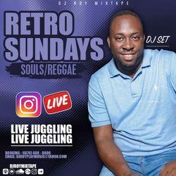 DJ ROY RETRO SUNDAY INSTA LIVE SOULS & REGGAE SET 17.5.20 [ LIVE AUDIO]