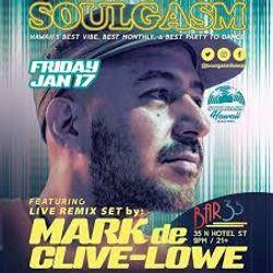 Mark de Clive-Lowe: Live Remix set at Soulgasm Hawaii