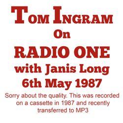 Tom Ingram on Radio One
