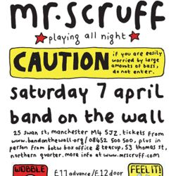 Mr Scruff live DJ mix from Band On The Wall, Manchester, Saturday April 7th 2012