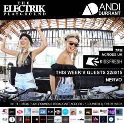 Electrik Playground 22/8/15 : Nervo Guest Mix