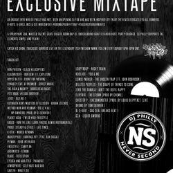 NEVER SECOND x DJ PHILLY - #BOOMBAPGRAFFITIRAP MIXTAPE