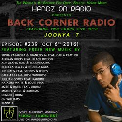 BACK CORNER RADIO: Episode #239 (Oct 6th 2016)