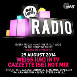 ONELOVE RADIO - 29 AUG. WEISS INTV & CAZZETTE MIX