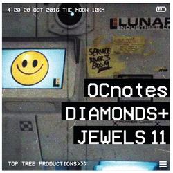 OCnotes Top Tree Diamonds & Jewels Mix 11