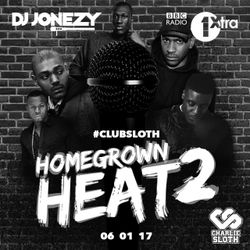 DJ Jonezy - BBC Radio 1Xtra -  Homegrown Heat