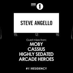 BBC Radio 1's Residency Steve Angello & Moby & Cassius & Highly Sedated & Arcade Heroes 15 Dec 2016