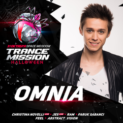 Omnia @ Trancemission Halloween / Moscow, Russia (31-10-2015)