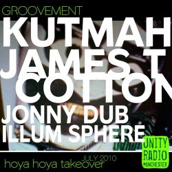 Groovement Kutmah X James T Cotton X Jonny Dub X Illum Sphere