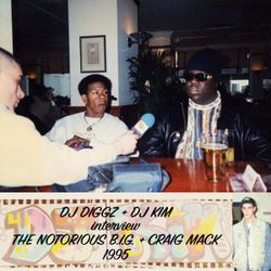 DJ Diggz & DJ Kim interview The Notorious B.I.G. & Craig Mack, 1995