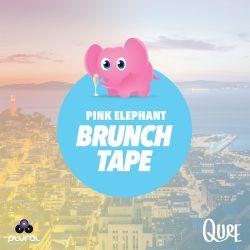 QURE - Pink Elephant Brunch Tape