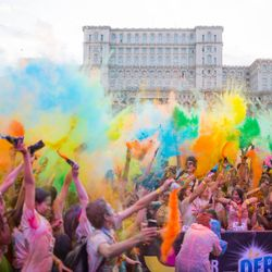 OLiX in the Mix may 2015 - Color Run Romania Power Songs