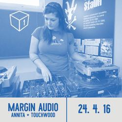 Shadowbox @ Radio 1 24/04/2016: Margin Audio Showcase