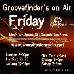 groovefinder's selection on soundfusionradio - Episode 38 with Tam Brown