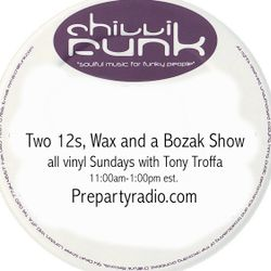 Two 12s Wax and a Bozak Show  4-30-17 Edition with Tony Troffa