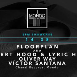 Oliver Way DJ set recorded live @ Mondo, Madrid - August 2017