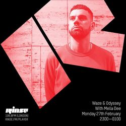 Mella Dee Guestmix for Waze & Odyssey on Rinse FM February 2017