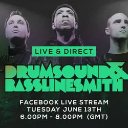 Drumsound & Bassline Smith - Live & Direct #42 [13-06-17]