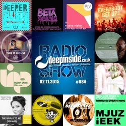 DEEPINSIDE RADIO SHOW 084 (Mr V Artist of the week)