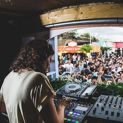Riya (Spearhead Records) @ Spearhead presents Brixton Beach, Brixton Rooftop - London (16.07.2017)