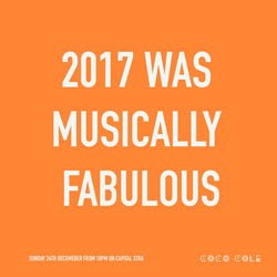 Coco Cole - 2017 Was Musically Fabulous