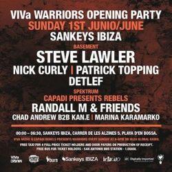 Patrick Topping @ VIVa Warriors Opening Party Sankeys Ibiza 1/6/14