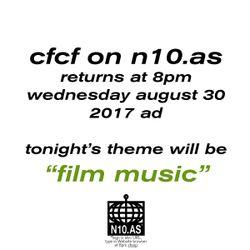 CFCF: film music 08/30/2017