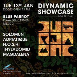 THYLADOMID - DIYNAMIC SHOWCASE @ BLUE PARROT, THE BPM FESTIVAL 2015 - 13/01/2015