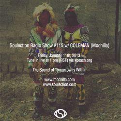 Show #115 w/ COLEMAN (Mochilla)