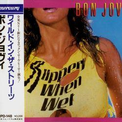 Bon Jovi Slippery When Wet  1986  Japan