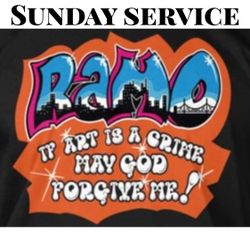 "SUNDAY SERVICE "" SPIRIT OF RAMO """