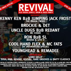 J J FROST B2B KENNY KEN AT REVIVAL XMAS 2009