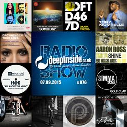 DEEPINSIDE RADIO SHOW 076 (Natasha Watts Artist of the week)