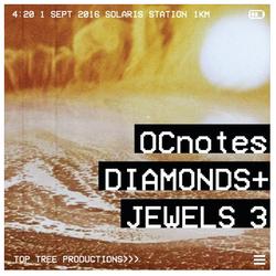 OCnotes Top Tree Diamonds & Jewels Mix 3