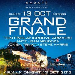 AMANTE BEACH CLUB - CLOSING PARTY - 13 / 10 / 2013